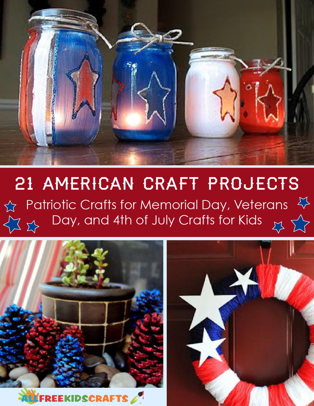 21 american craft projects: patriotic crafts for memorial day