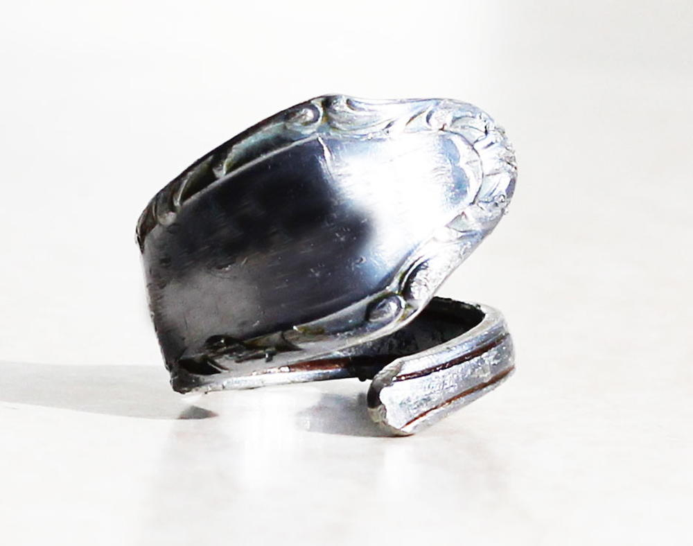 Diy How To Make A Spoon Ring