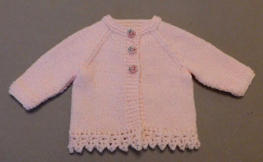 In Bloom Baby Cardigan