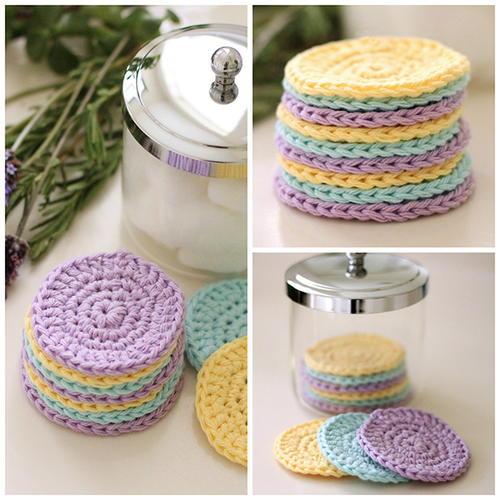 Reusable Crochet Face Scrubbies Allfreecrochet