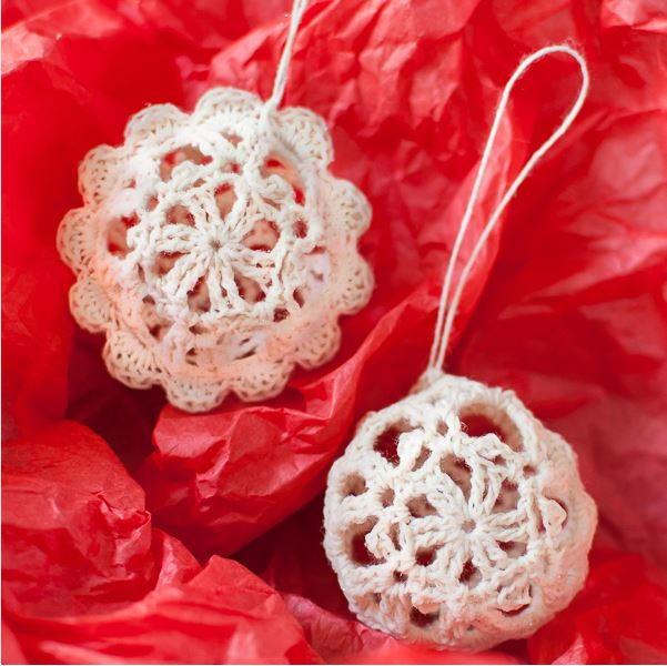 Crochet Ornaments: 30 Free Christmas Patterns ...