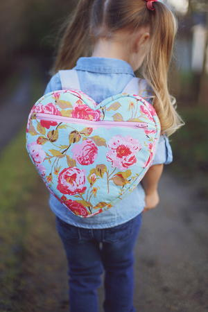 I-Heart-School Backpack Pattern