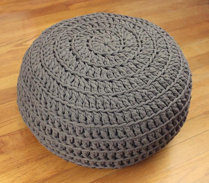 Comfy Crochet Pouf Diy Allfreecrochet Com