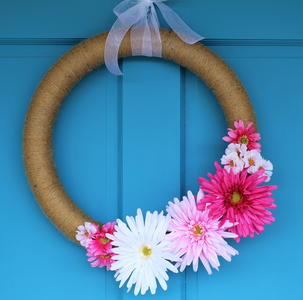 Floral Twine Wreath