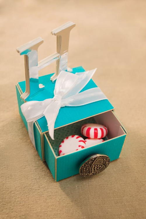 Candy Drawer DIY Party Favor