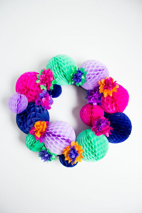 Bright and Festive Wreath