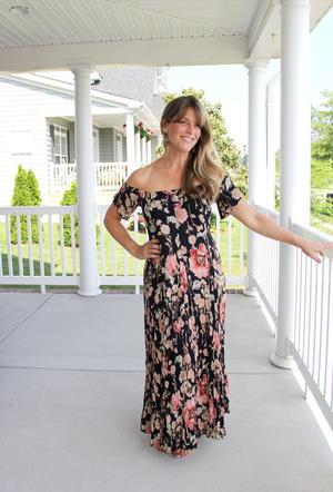 Rhiannon Upcycled Maxi Dress Tutorial