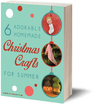 6 Adorable Homemade Christmas Crafts for Summer