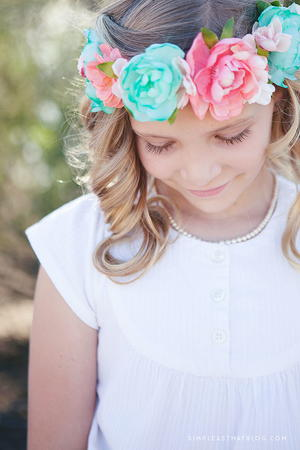 Flower Fairy DIY Crown
