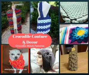 2770 free crochet patterns allfreecrochet crocodile couture and decor 24 crocodile stitch patterns tutorial find more crocodile stitch patterns for your crochet accessories and home decor dt1010fo