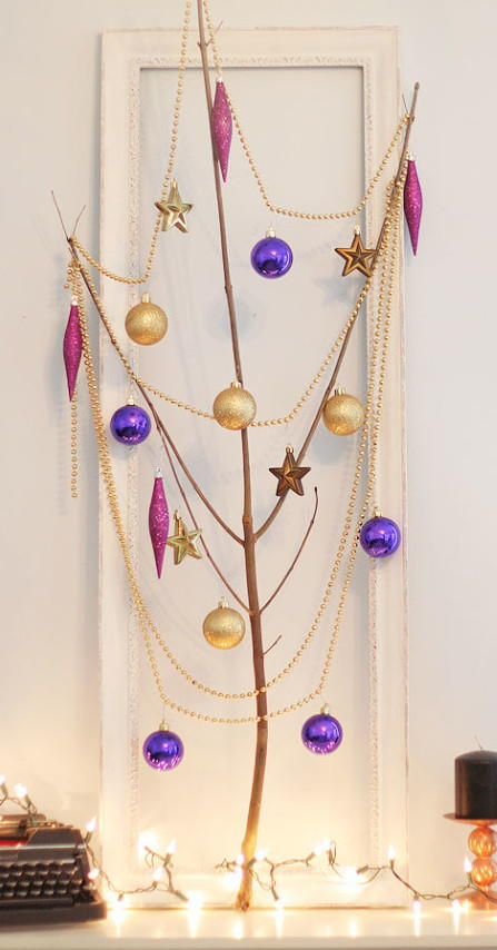 Funky DIY Christmas Tree