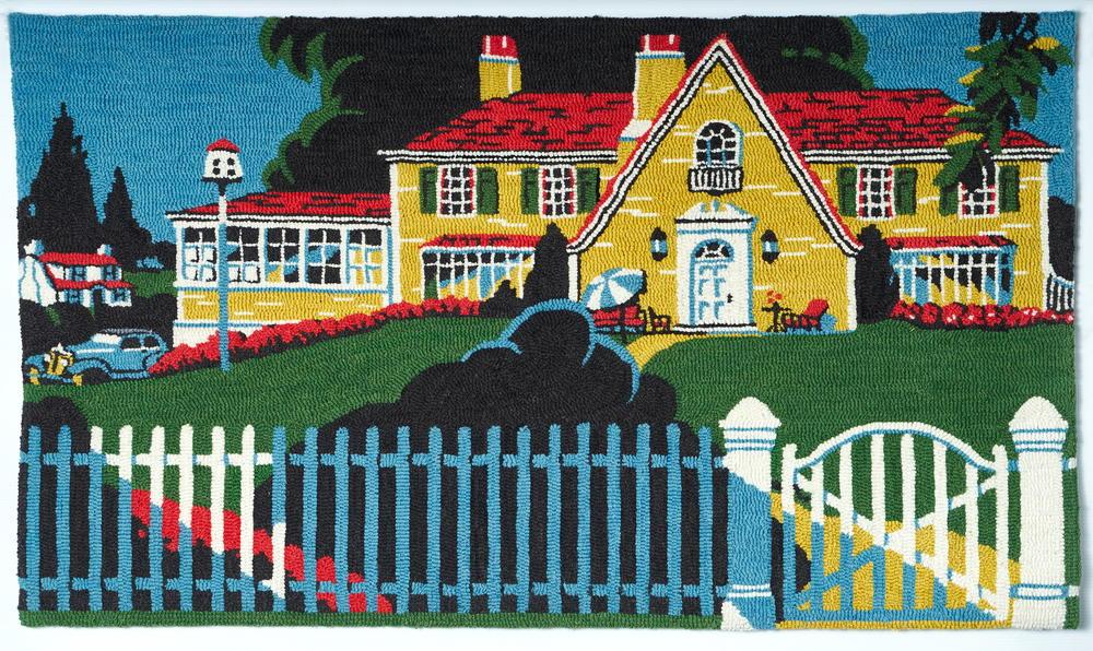 Home Sweet Home | rughookingmagazine.com