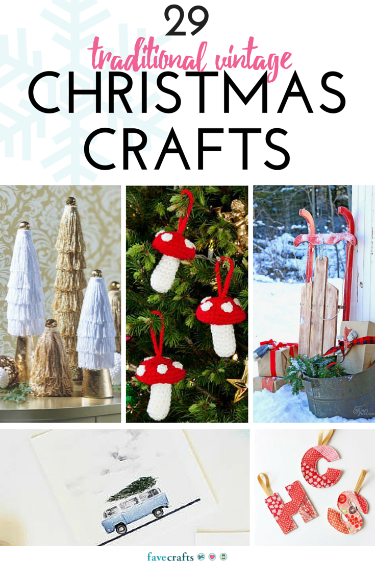 Good Vintage Christmas Craft Ideas Part - 7: FaveCrafts