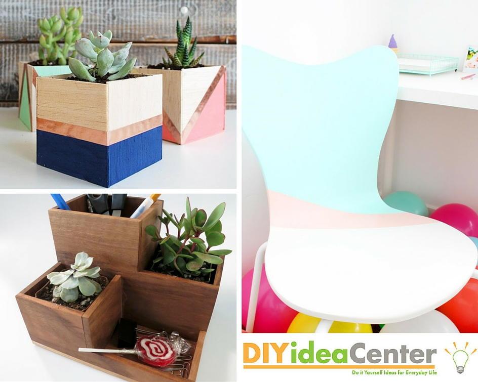 Diy desk makeover on a budget diyideacenter solutioingenieria Images