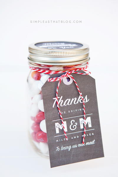 Jolly Gifts in a Jar