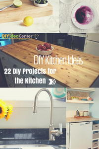 DIY Kitchen Ideas: 22 DIY Projects for the Kitchen