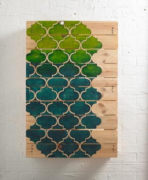 Beautiful Pallet DIY Wall Art