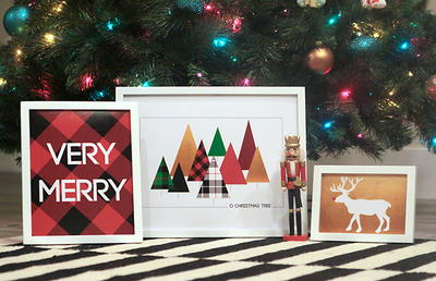 Modern Merry Christmas Printables