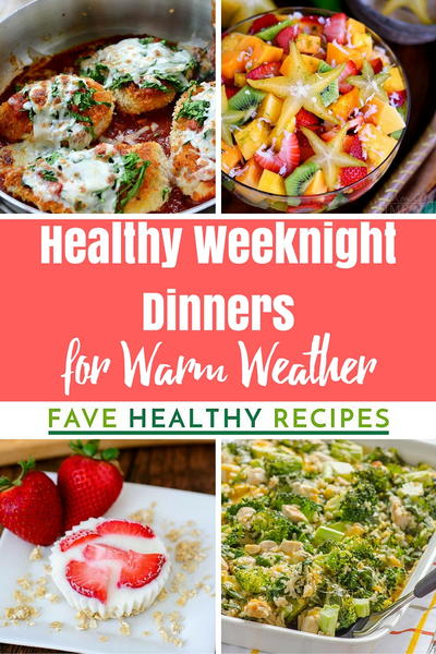 36 easy healthy weeknight dinners for warm weather 30 easy healthy weeknight dinners for warm weather forumfinder Gallery