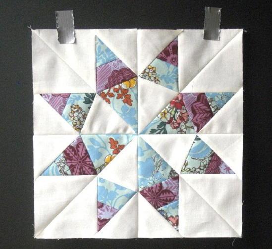 Sunshine Texas Star Block Pattern | FaveQuilts.com : texas star quilt pattern free - Adamdwight.com