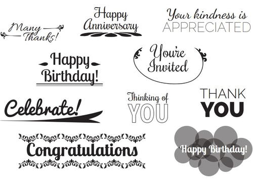 Free Printable Card Sentiments