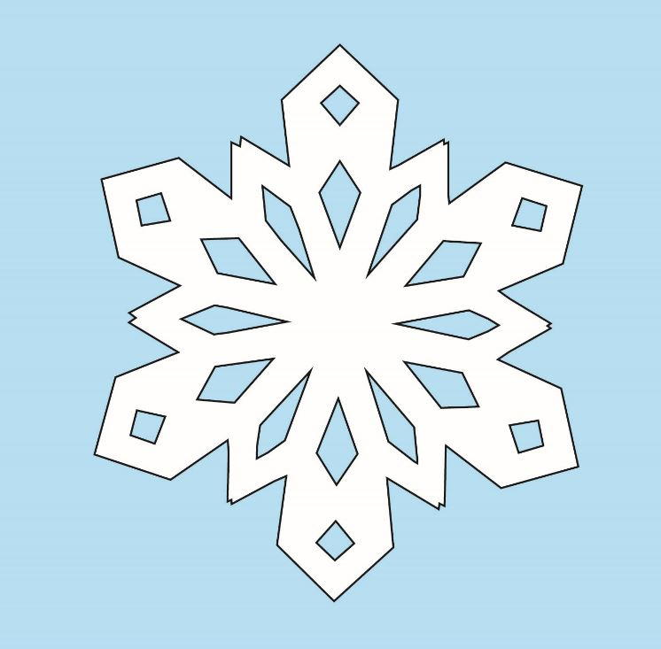 How to Make Paper Snowflakes | AllFreeChristmasCrafts.com
