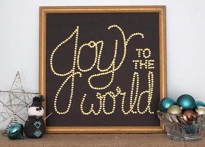 15 Diy Christmas Wall Decor Ideas You Can T Miss Favecrafts Com