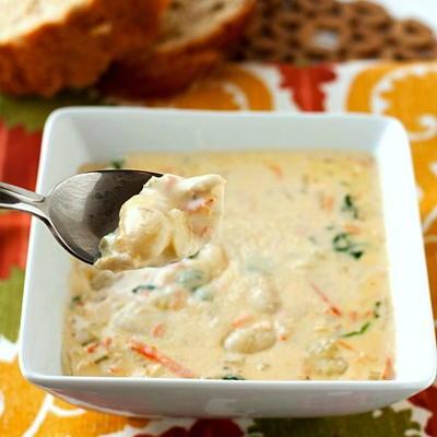 olive garden chicken gnocchi soup copycat - Olive Garden Gnocchi Soup