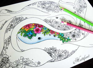 Intricate Coloring Pages For Adults : Adult coloring book pages free and printable favecrafts