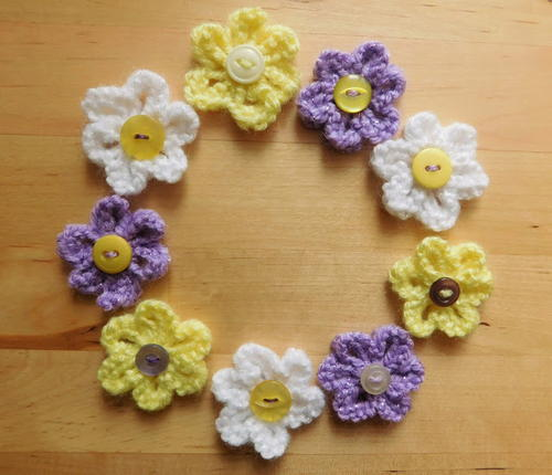 How To Knit A Flower For Baby Hat Day