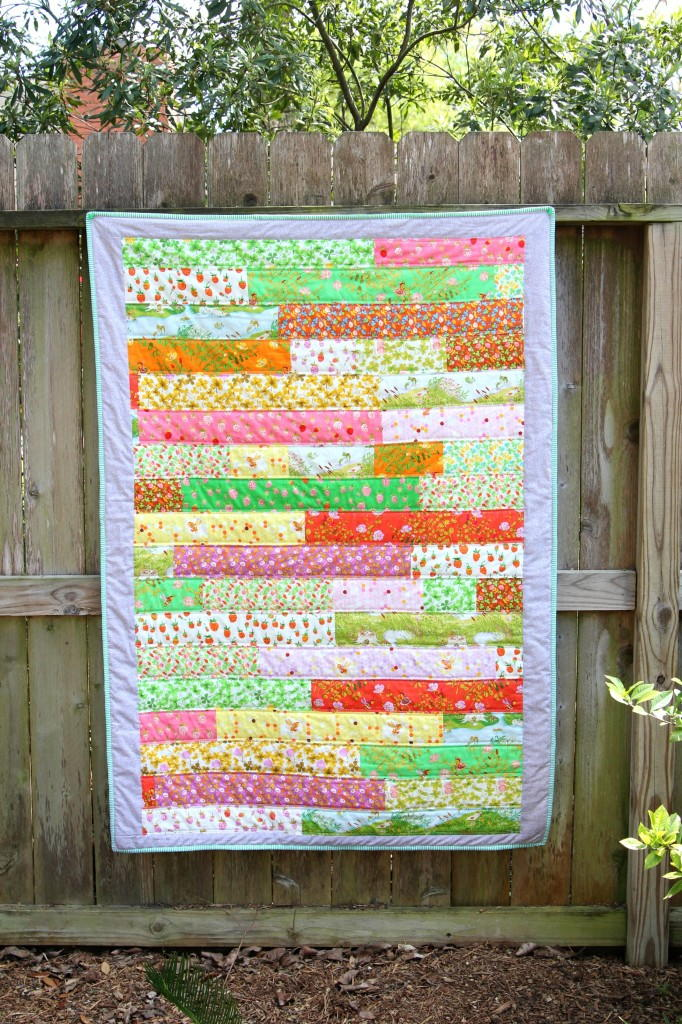 Briar Rose Strip Quilt Tutorial Favequilts Com