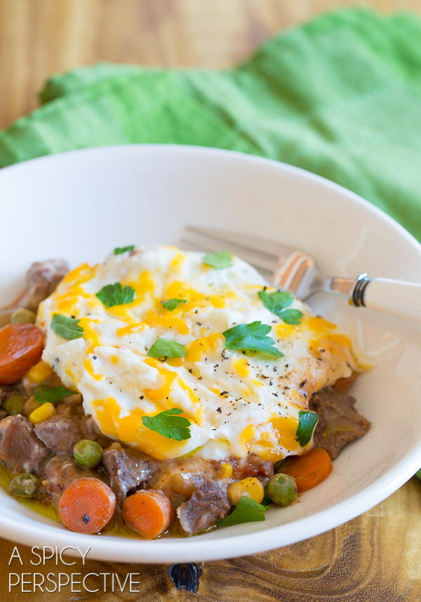 Dad's Favorite Slow Cooker Shepherd's Pie ...