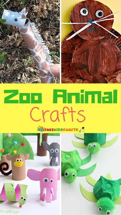 18 Zoo Animal Crafts