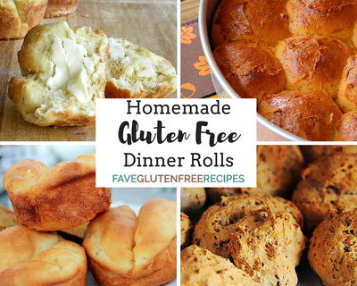 14 Homemade Gluten Free Dinner Rolls