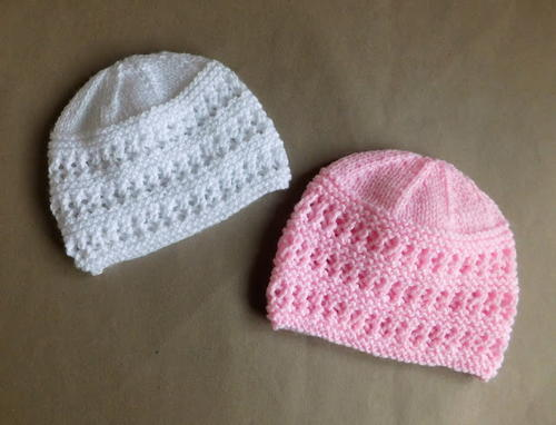 Two Baby Hat Knitting Patterns Allfreeknitting Com