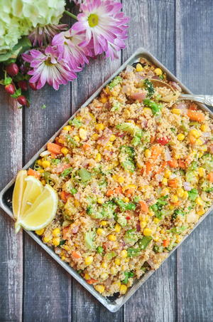 Chipotle Roasted Vegetable Couscous