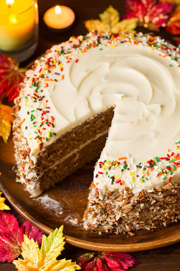 Autumn Spice Cake Recipelion Com