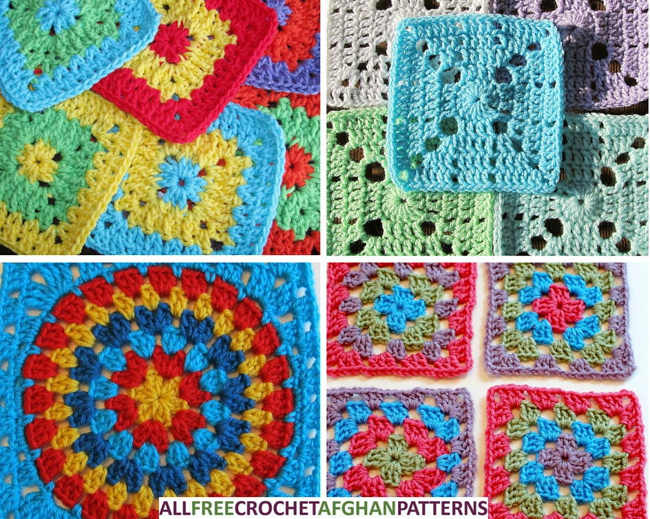 Our Favorite Crochet Blanket and Granny Square Patterns ...