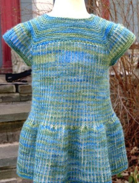 Springtime Brioche Baby Dress