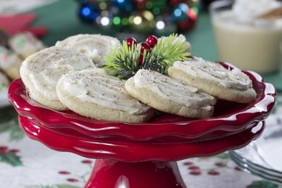 Iced Eggnog Cookies Mrfood Com
