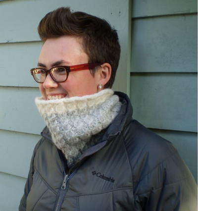 Snowbound Cable Knit Cowl