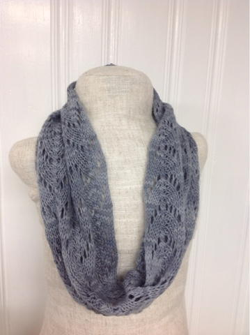 Dove Gray Cowl Pattern | AllFreeKnitting.com
