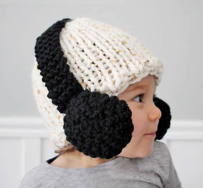Headphones Baby Hat Pattern Allfreeknitting
