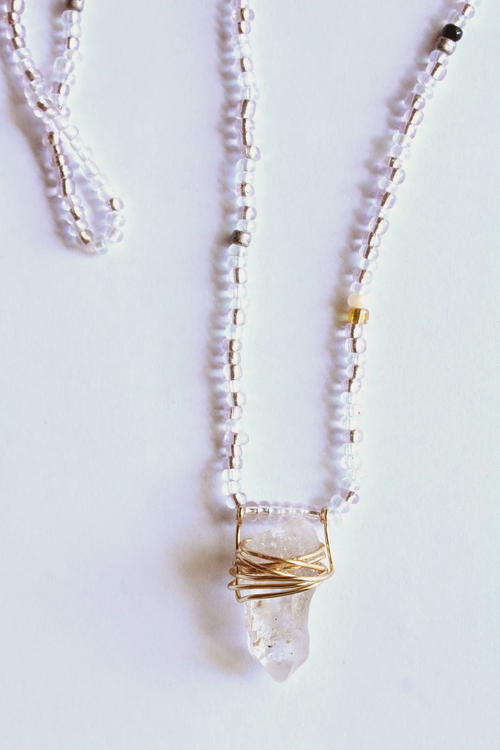 cylinder vintage s chain link chains sharon necklace tassel products jewelry wrapped pendant curb
