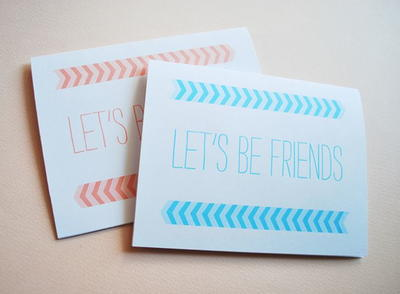 Adorable Friendship Cards