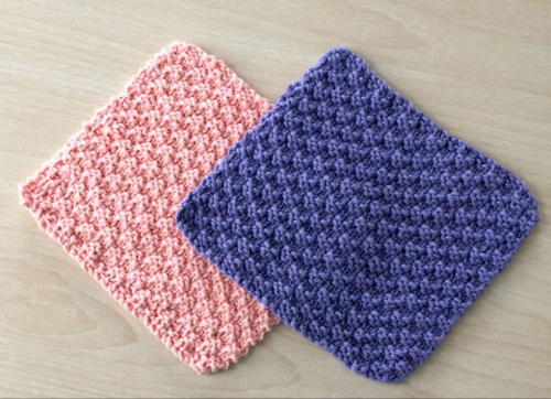 Knit And Purl Dishcloths Allfreeknitting