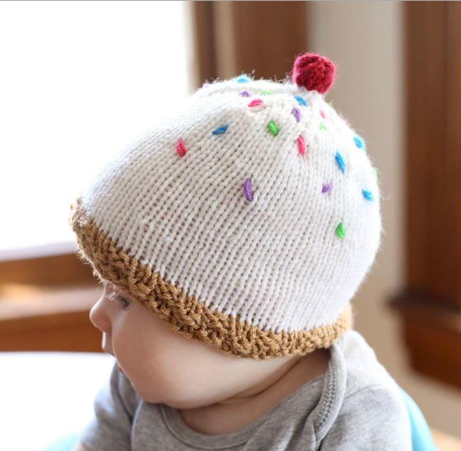 34 Adorable Knit Baby Hats Allfreeknitting
