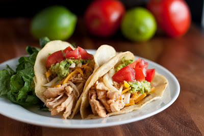 Copycat Cafe Rio Shredded Chicken Taco Recipe