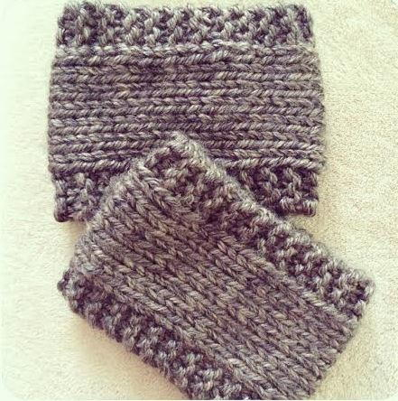 Easy Latte Boot Cuffs