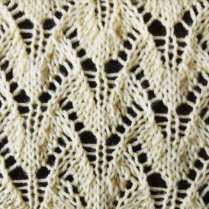 Winged Lace Stitch Pattern